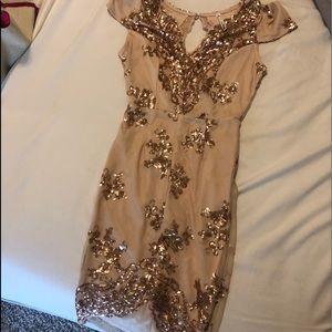 Gorgeous Rose Gold Dress